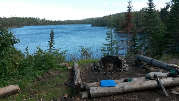 Campsite on Ahsub Lake