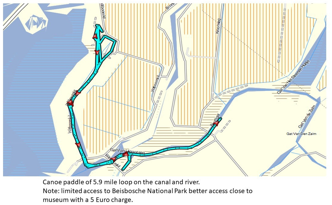 Biesbosch canoe route