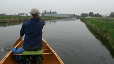 paddling in Hillegom