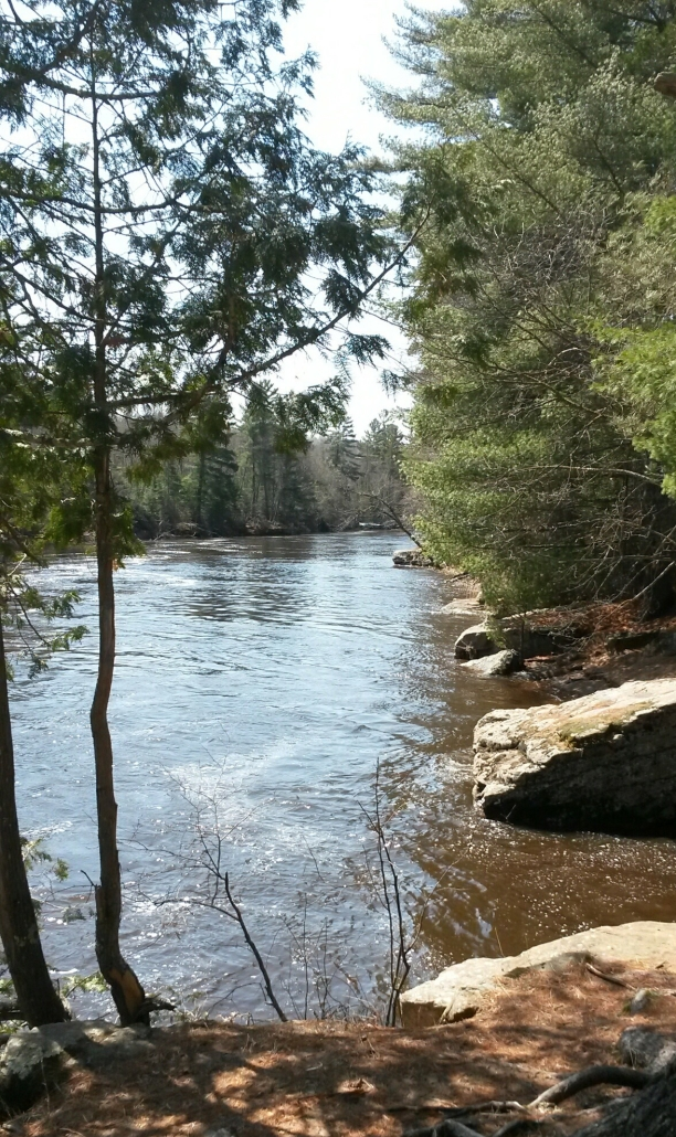 Kettle River Spring run off