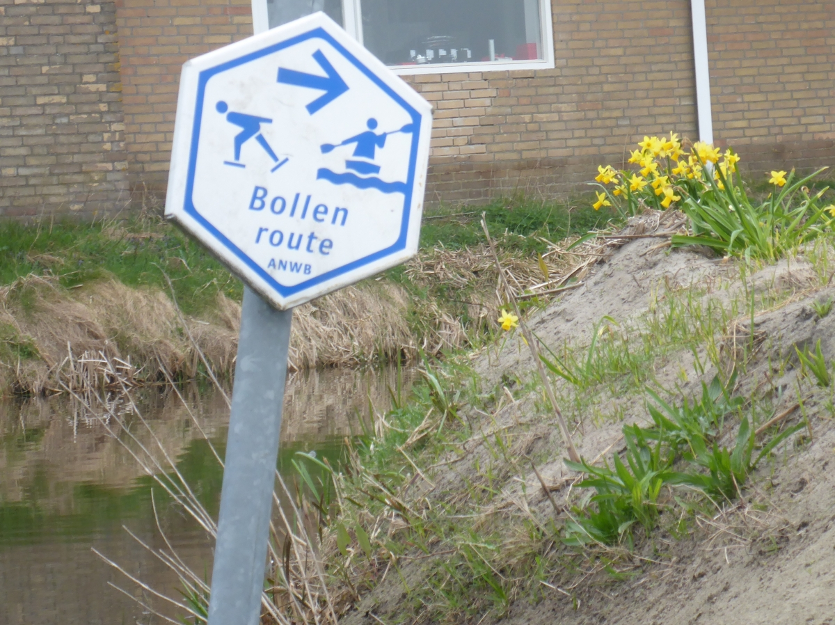 Bollen Route Sign