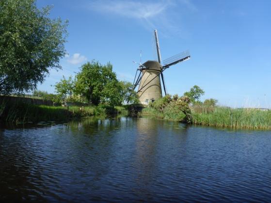 Windmill on the Kinderdijk