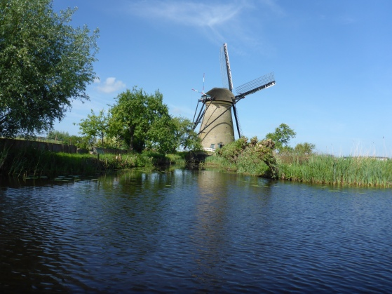 Windmill on the Kinderdijk