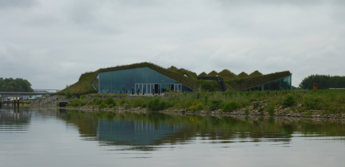 Biesbosch Museum from the water