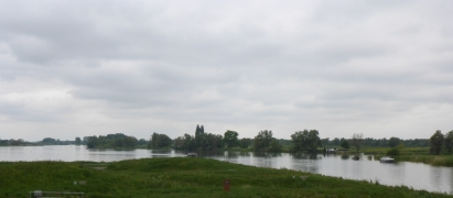 Looking out from the roof of the Biesbosch