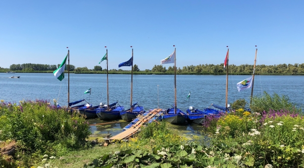 Scout camp boats