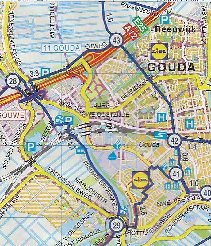 Gouda Bike Points