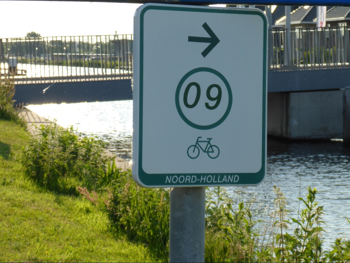 Bike Point Number 9 on the Ringvaart