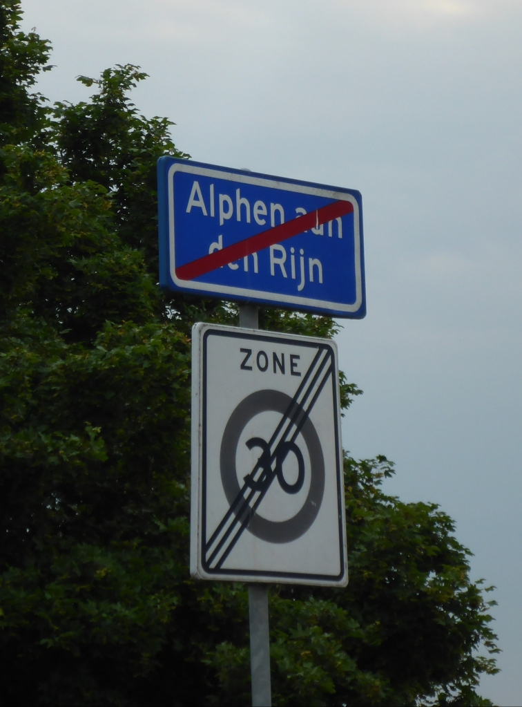 Sign Showing the End of City Limits