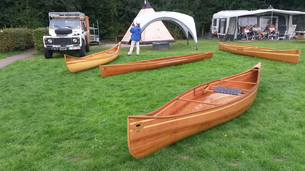FreeRanger Canoe display