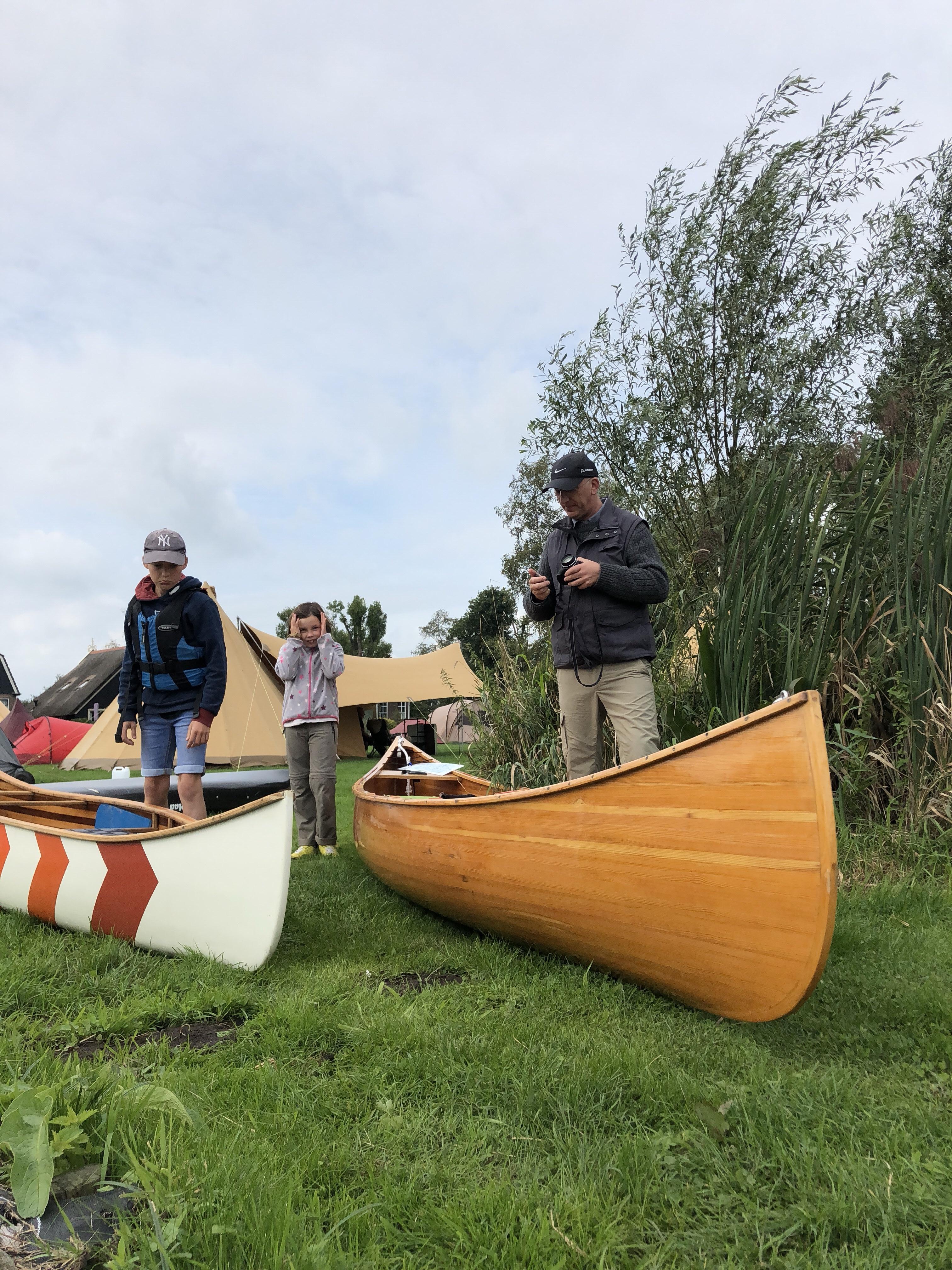 Emiel from FreeRanger Canoe and our Cedar
