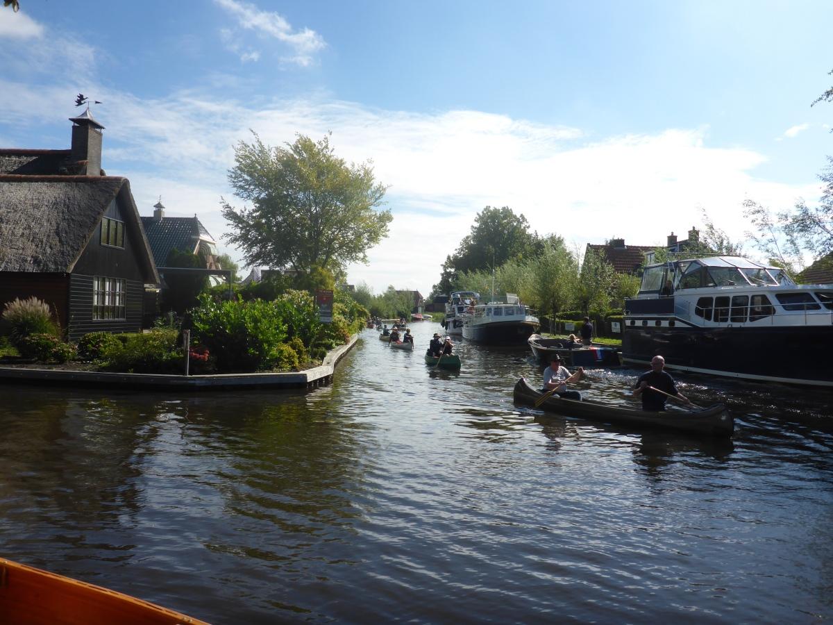 Canoe Festival 2018- Paddling through Kalenberg