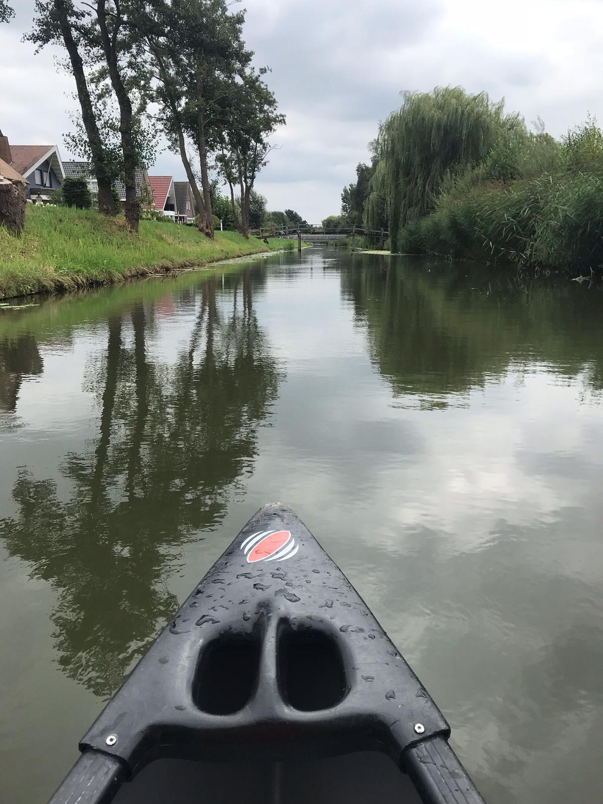 The calm waters of the Valley Canal Veenendaal