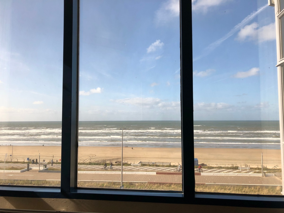 The view from my seaside office in Zandvoort