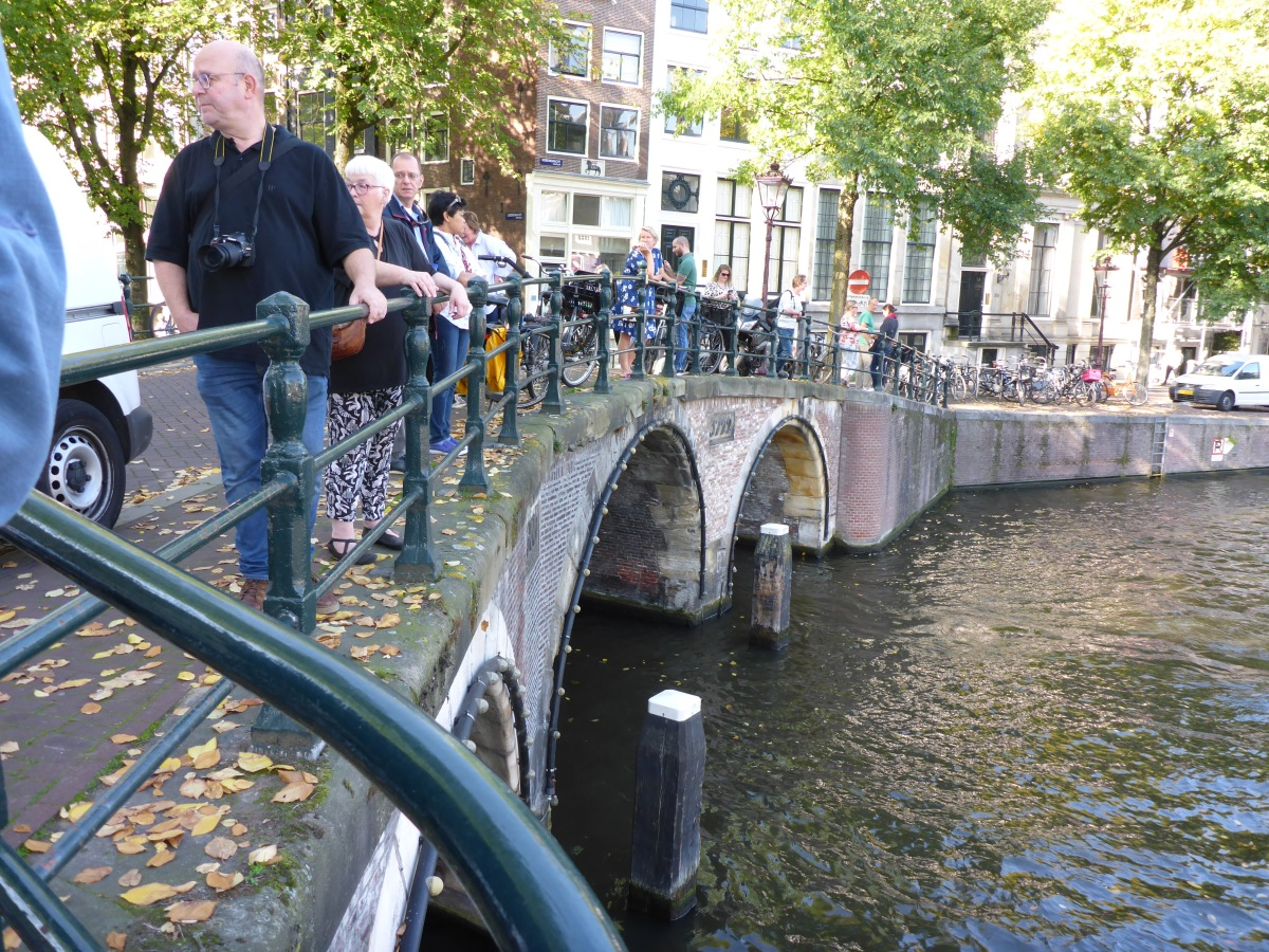 The Bridge on Herengracht street.