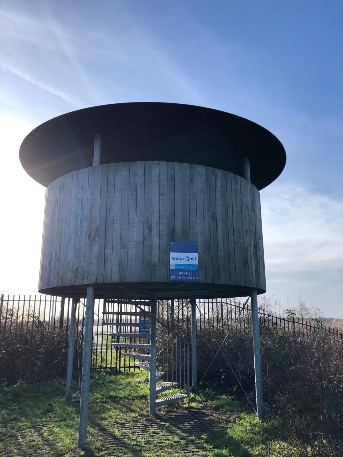 Bird overlook tower