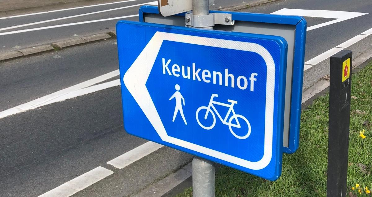 Heading towards the Keukenhof