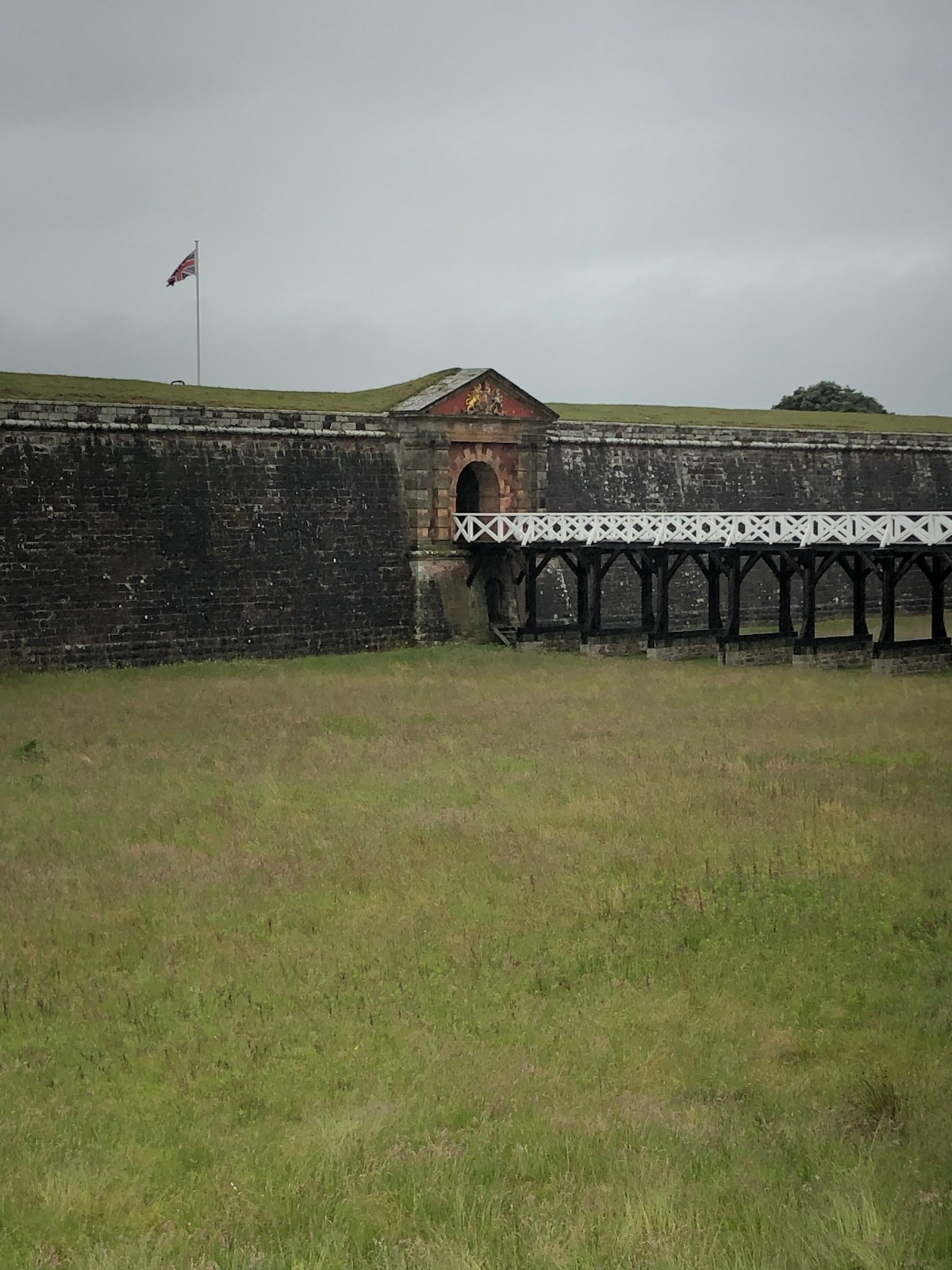 The Principal Bridge that leads into the main garrison.