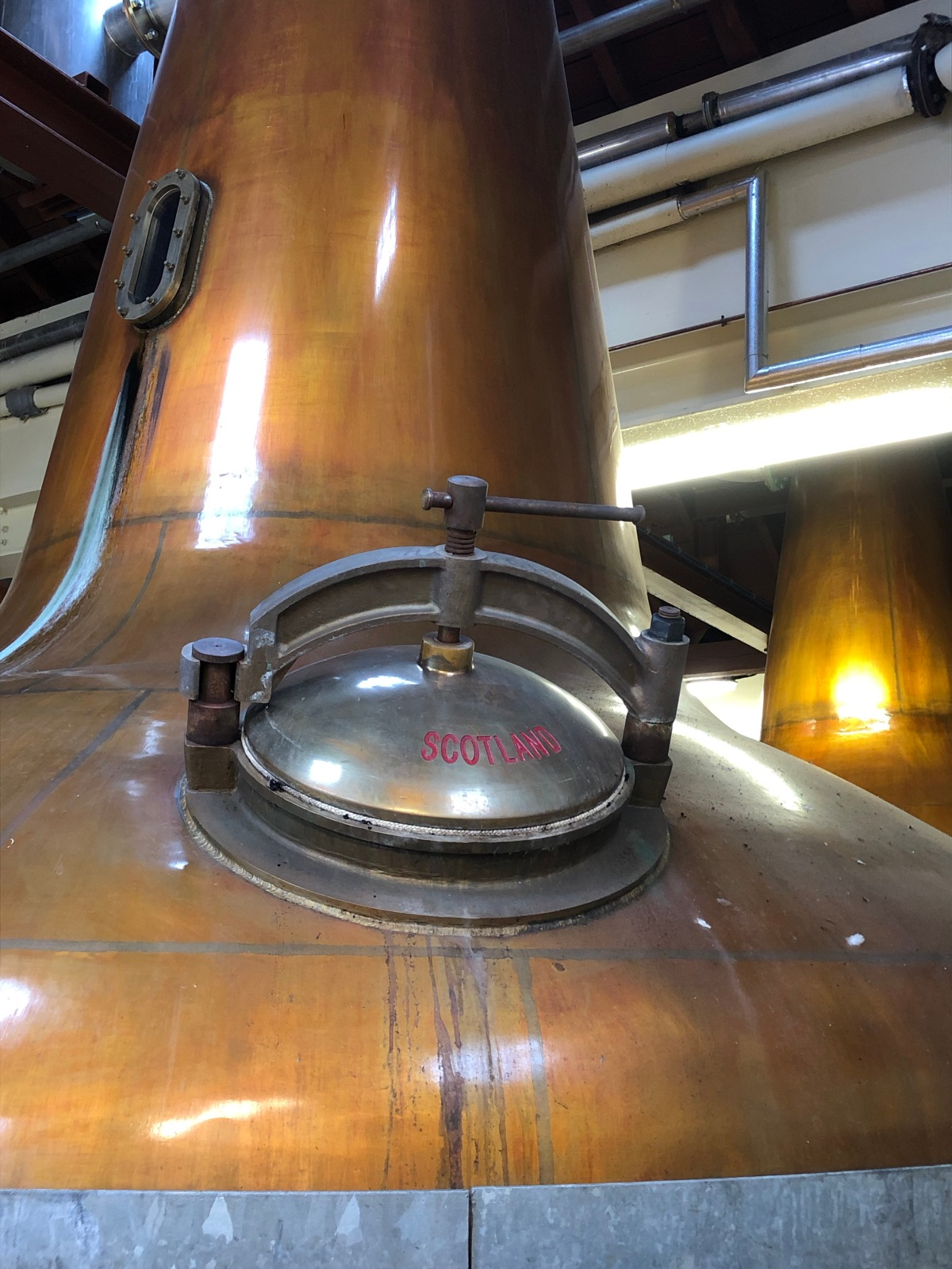 One of five of the original distillers at Glen Moray