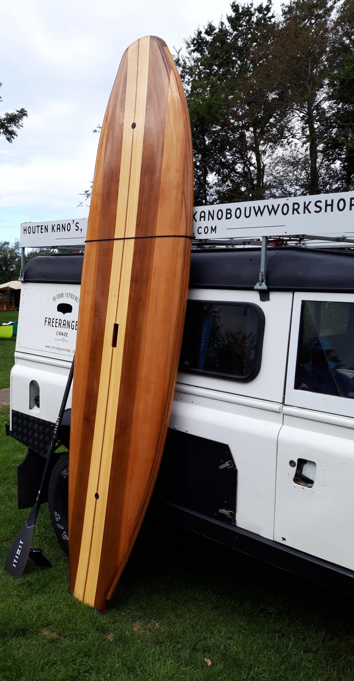 FreeRanger wood SUP