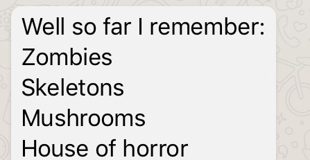 List of Strange Hummm