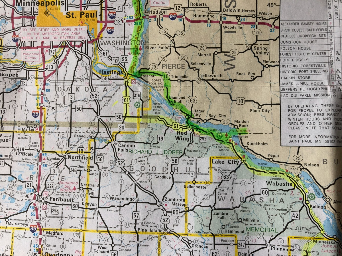 My GMRR Map.