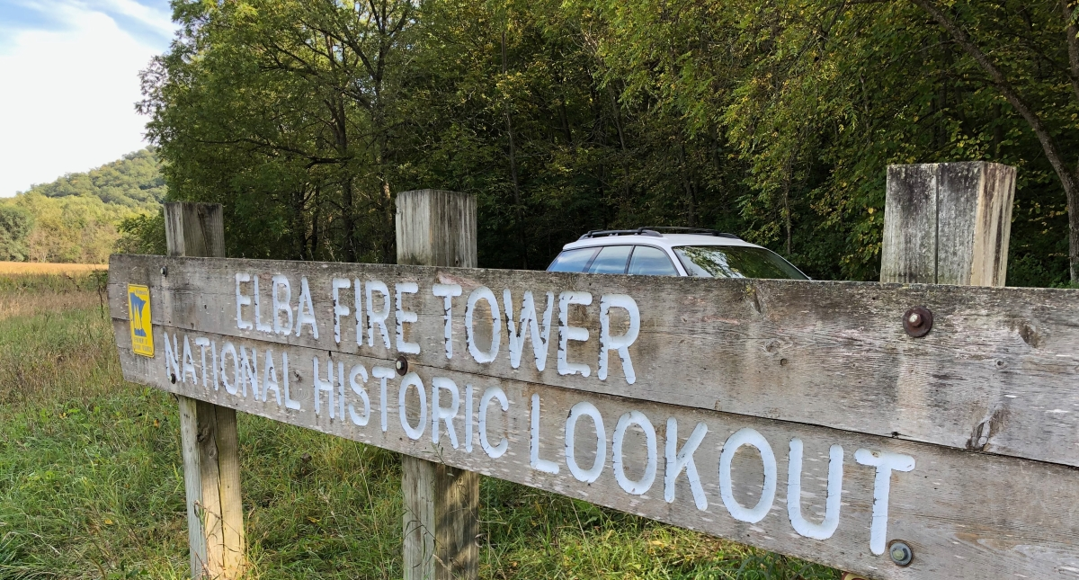 National Historic Lookout in Elba