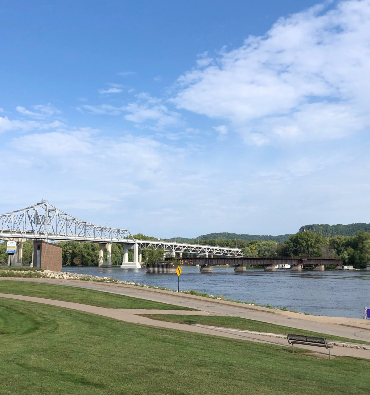 Mississippi River at Winona, MN