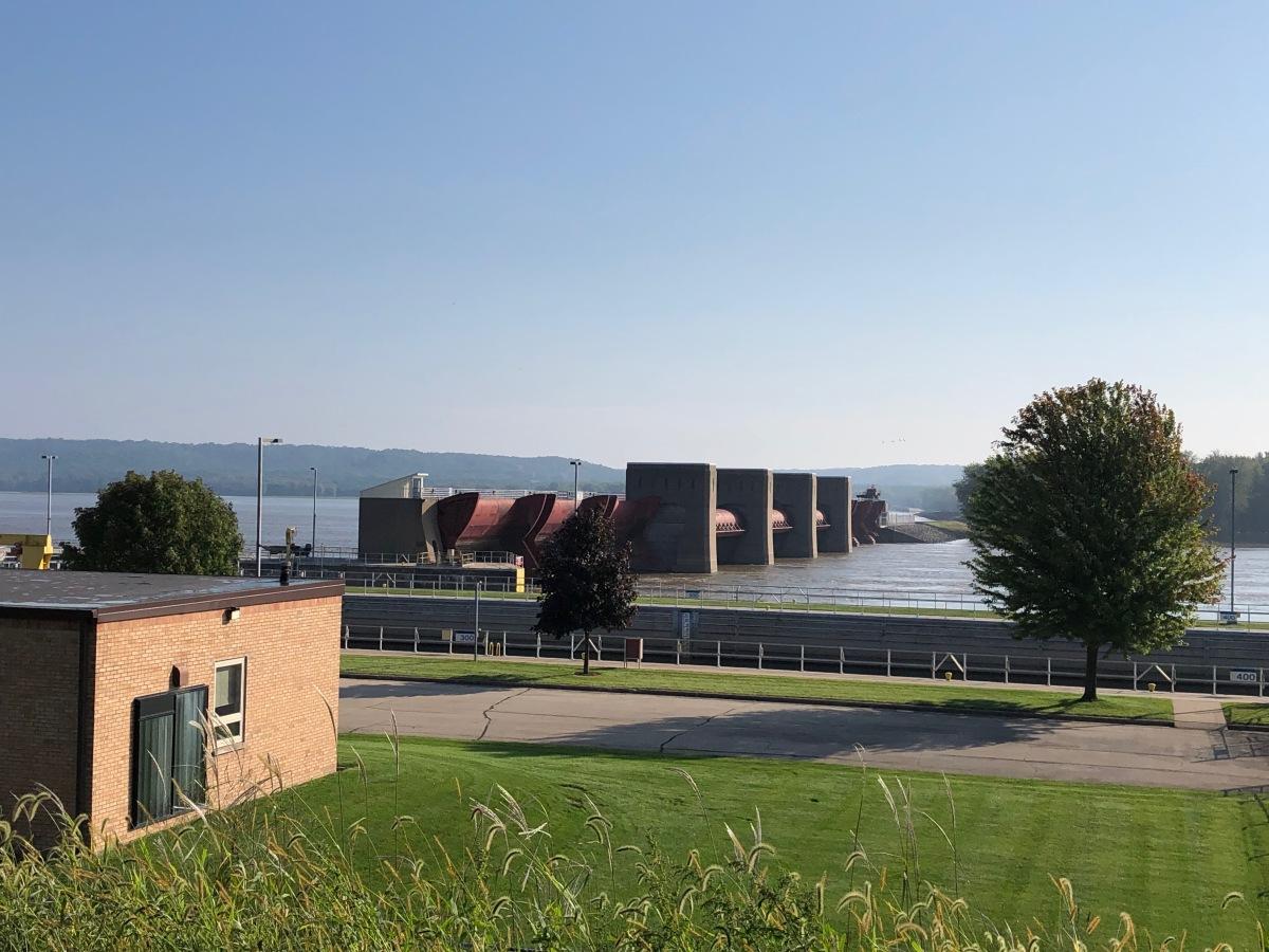 Dam number 12 at Bellevue, Iowa