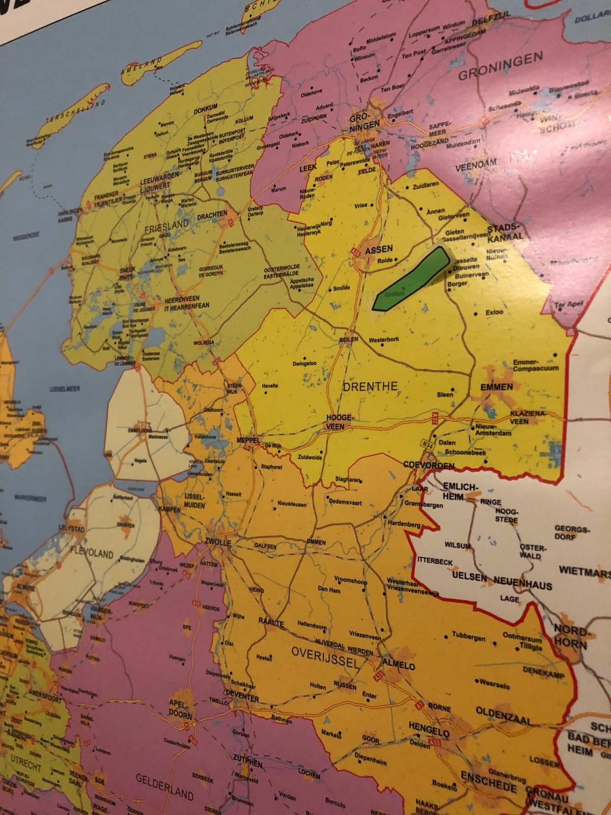 Our projected destination in Drenthe