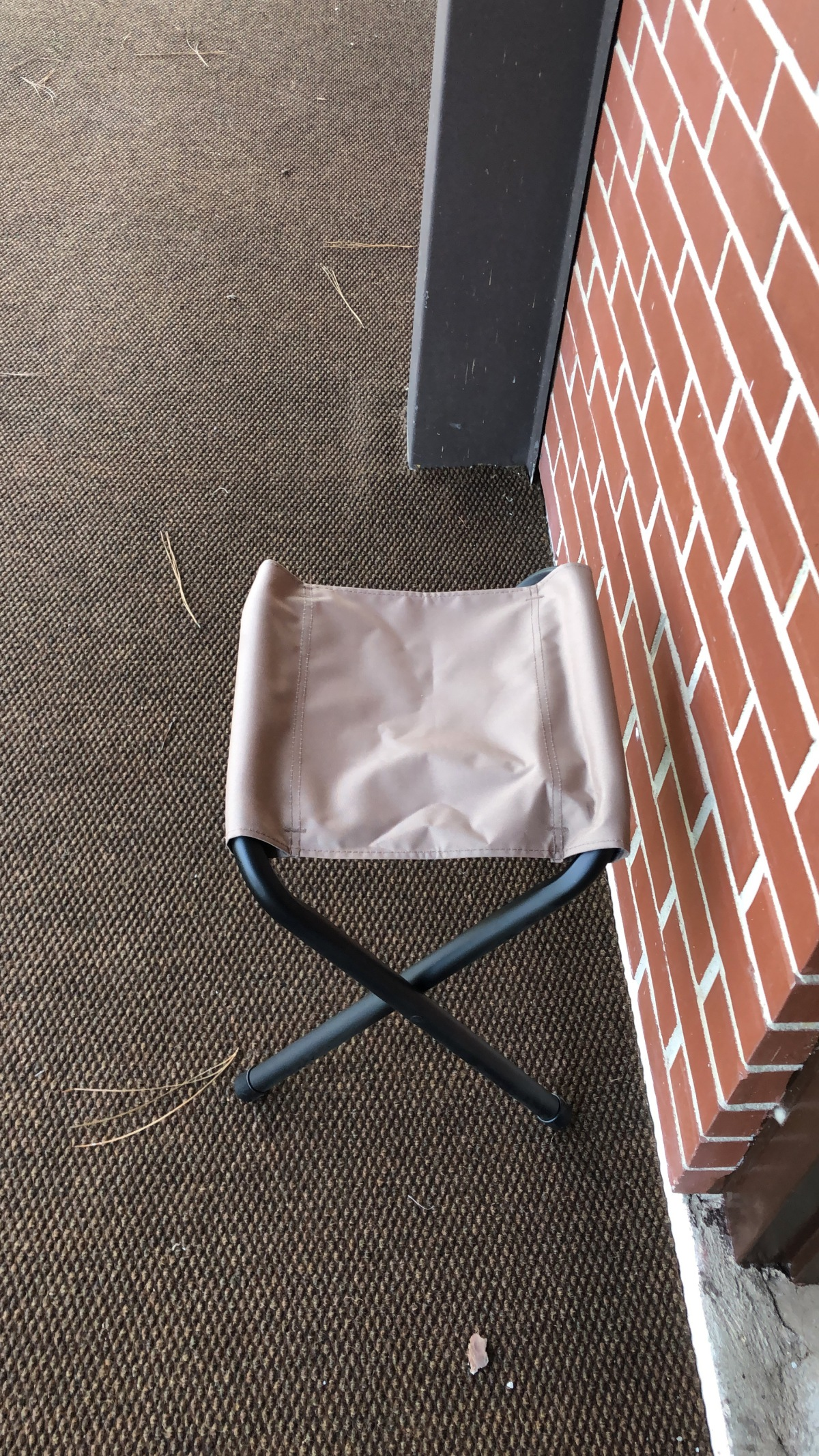 My self purchased chair for mission support