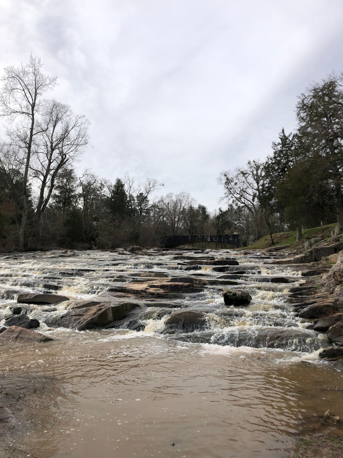 The falls at Indian Spring State Park